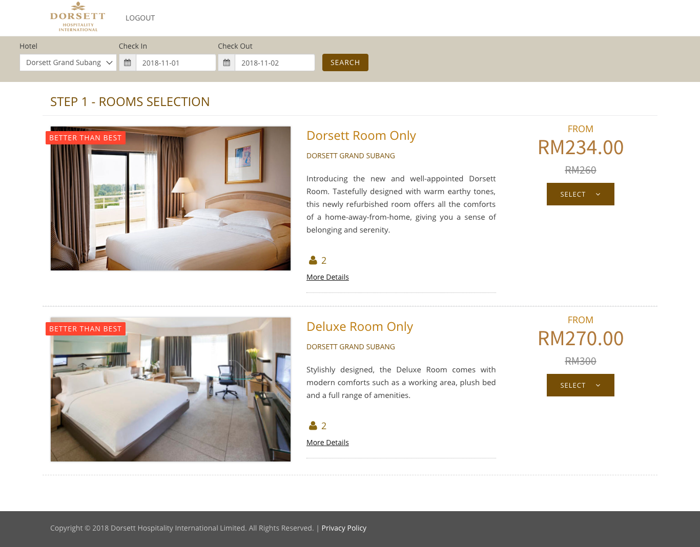 Dorsett Hotels | Corporate Rates for Malaysia Hotels
